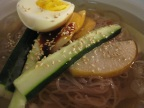 Naengmyon (Cold Korean Noodles)