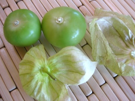 De-husked Tomatillos