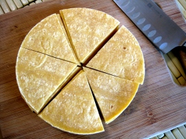 Tortillas for Chilaquiles Verdes