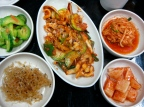 Bibimbap and Banchan in Korea