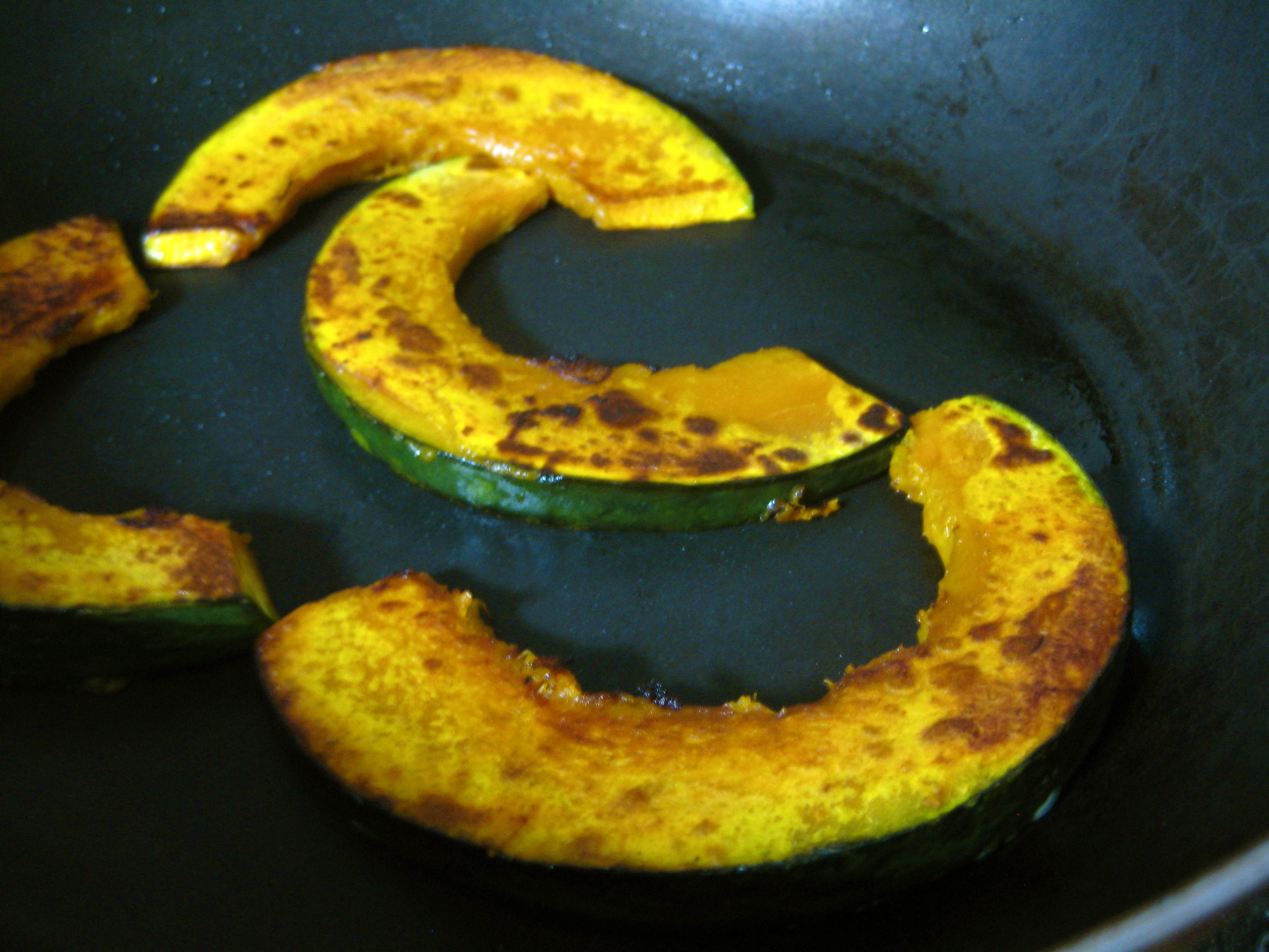 How To Cook Pumpkin On Pan