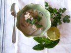 Tom Kha Gai Soup with Chicken and Lemongrass