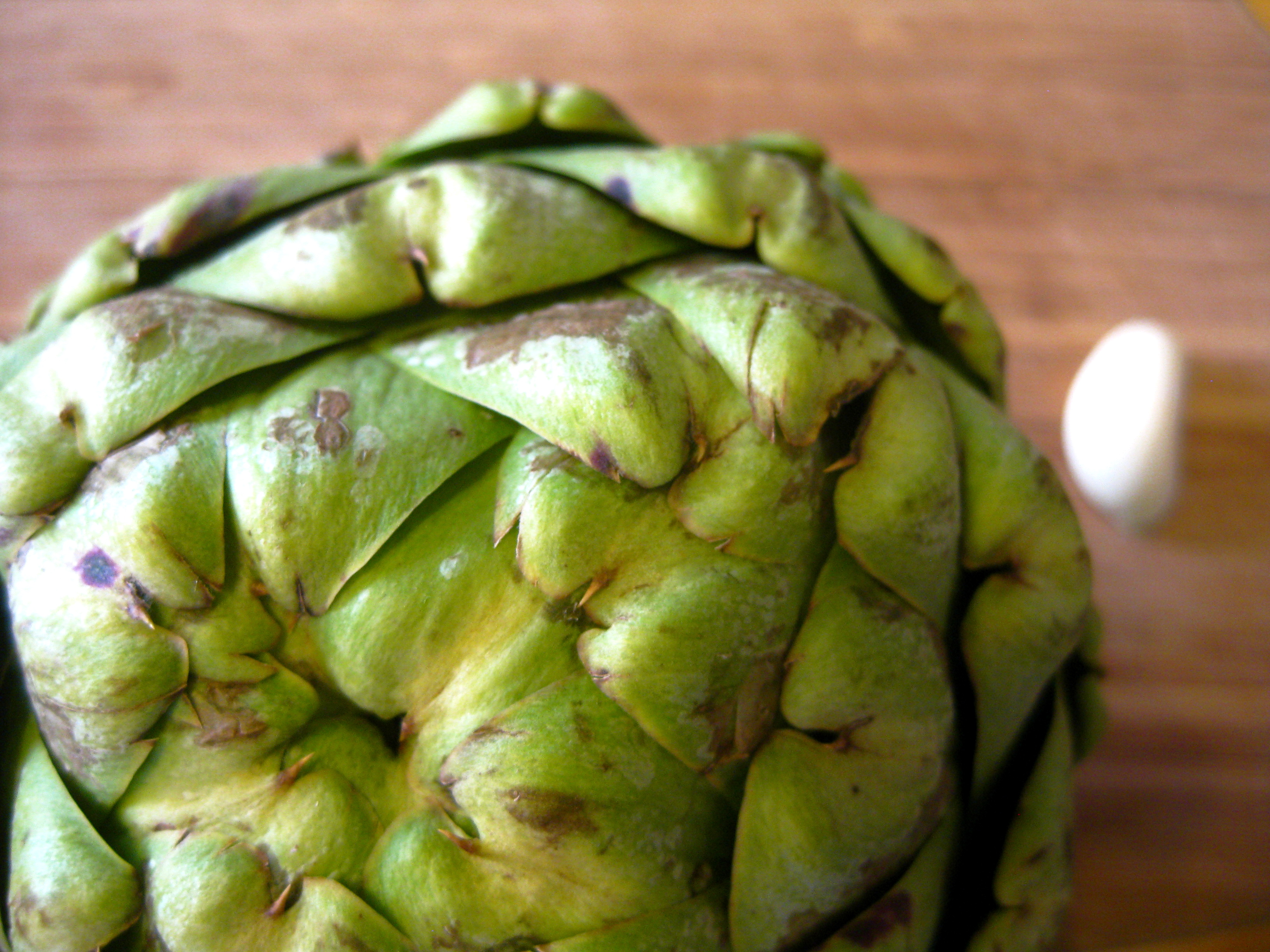 Steamed Artichoke with Spicy Mayonnaise Dipping Sauce | spontaneous ...