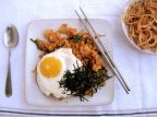 Kimchi Fried Rice (Bokkeumbap)