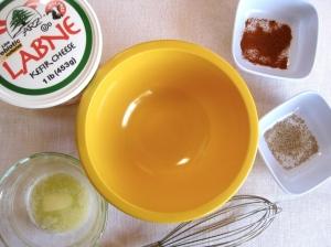 Making Greek Yogurt Hollandaise Sauce