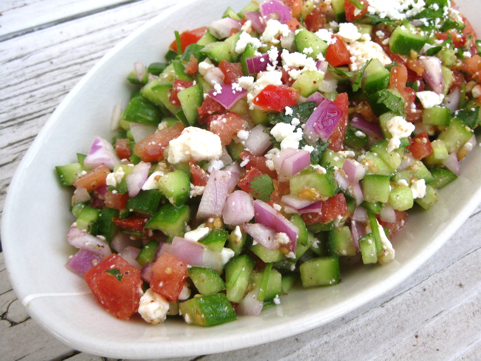 ... soon as the weather gets warm, I start craving cool, summery salads