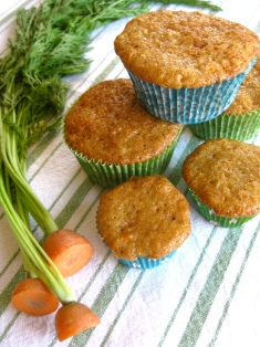 Buttermilk Carrot Cake Cupcakes