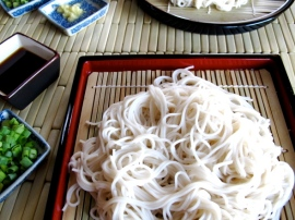 Zaru Soumen - Chilled Japanese Noodles with Tangy Dipping Sauce