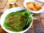 Korean Banchan: Kkaennip Kimchi (Perilla leaf kimchi)