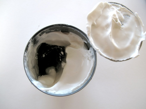 Coconut Cream from a chilled can of coconut milk