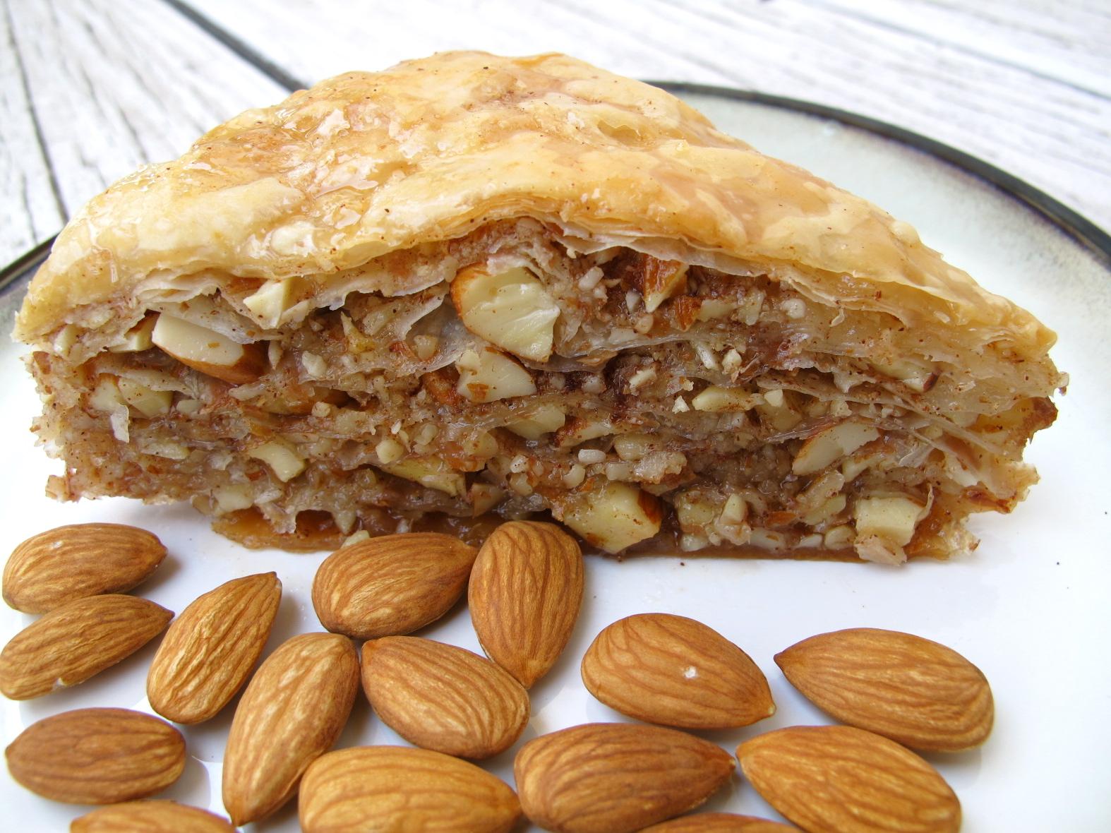 Almond Cinnamon Baklava & a Giveaway! | spontaneous tomato