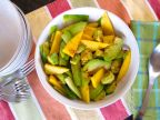 Chayote Mango Salad with Avocado