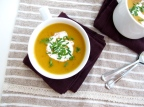 Japanese Kabocha (Pumpkin) Leek Soup