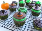 Gluten-free Halloween Pumpkin Cupcakes