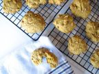 Pumpkin Ginger Walnut Cookies