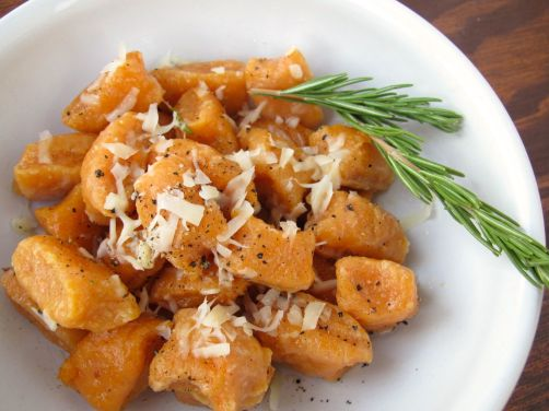 Sweet Potato Gnocchi in Rosemary Butter