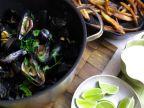 Cilantro Lime Moules Frites
