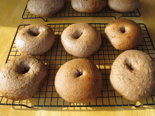 Maple Cinnamon Bagels