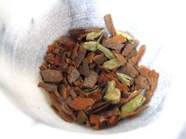 Cinnamon and cardamom