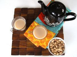 Homemade Masala Chai with Whole Spices