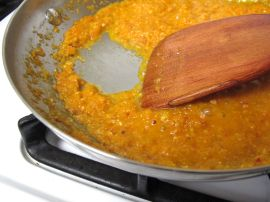 Sauce for Sambal Goreng Telur (Indonesian Egg Curry)