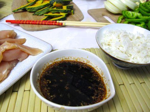 Yaki-niku dipping sauce