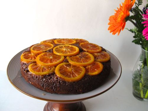 Cara Cara Orange Chocolate Cake