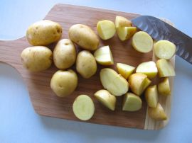 Potatoes for Pasta Genovese