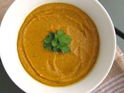 Chana Masala Soup / Hummus