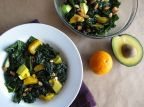 Citrusy Kale and Avocado Salad