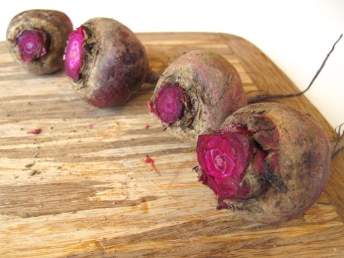 Beets for Beet Hummus