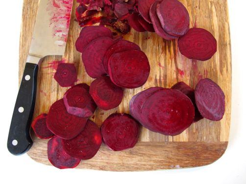 Beets for Beet Hummus