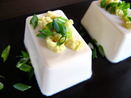 Japanese Tofu with Ginger and Scallions