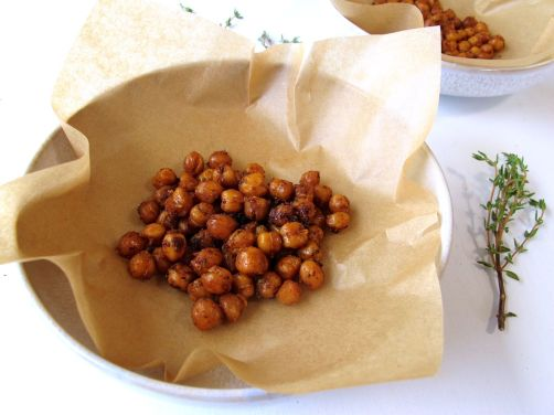 Za'atar Roasted Chickpeas