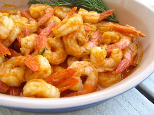 Paprika Gambas al Ajillo - Garlic Shrimp Tapas