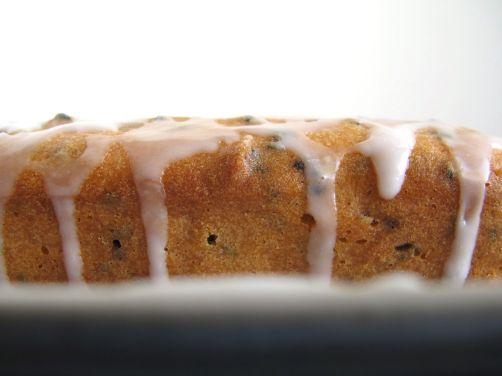 Black Sesame Mochi Cake