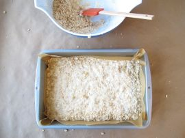 Crust for Peach Rhubarb Oatmeal Bars