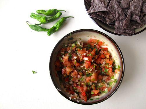 Blistered Shishito Salsa