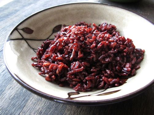 Black Rice (also called Purple Rice or Forbidden Rice)