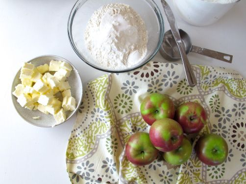 Ingredients for French Apple Tart