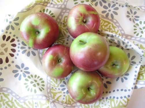 McIntosh apples from Wisconsin