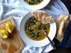 Lemony Lentil Spinach Soup