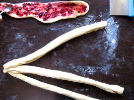 Making Cranberry Swirl Challah
