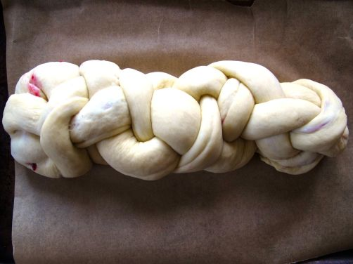 Making Cranberry Swirl Challah