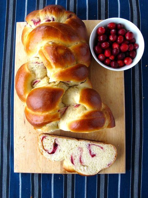 Cranberry Swirl Challah