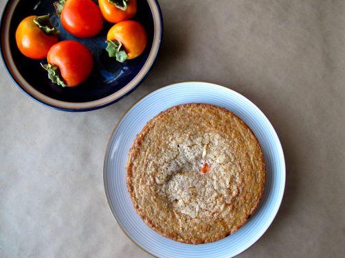 Persimmon Hazelnut Cake