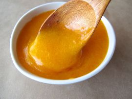 Cinnamony Persimmon Sauce