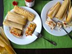 Adobo Chicken Tamales