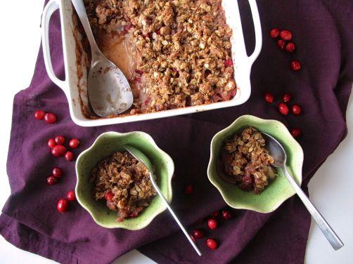 Pear Cranberry Crisp (Gluten-Free)