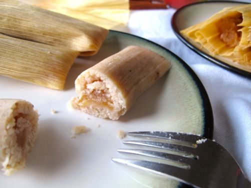 Cinnamon Apple Tamales